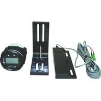ATLAS HYDRAULIC Jack Plate Digital Gauge Kit, Black Face & Bezel