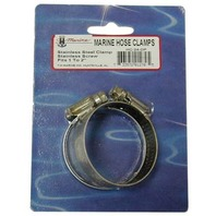 """STAINLESS STEEL HOSE CLAMPS, DISPLAY PACKED PAIR-Std 24, 1"""" - 2"""""""