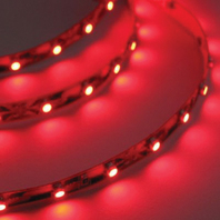 "LED FLEX STRIP ROPE LIGHT, ADHESIVE BACKED-LED Rope Light, 48"" Red"