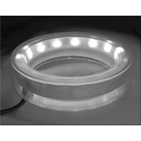 LED CUP HOLDER ACCENT RING INSERT-LED Cup Holder Insert, White