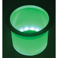 T-H MARINE LED-LCH-G-DP LED LIGHTED CUP HOLDERS-Green