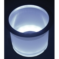 LED-LCH-W-DP TH Marine LED LIGHTED CUP HOLDER-White