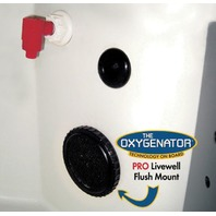 THE OXYGENATOR  Flush Mount Pro Livewell Aerator