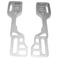 TH Marine Positive Tuck Transom Wedge (Pair) Cast Aluminum