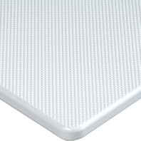 "KING STARBOARD ANTI-SKID MARINE LUMBER, P14 SERIES-White, 12"" x 27"" x 3/4"" Thick"