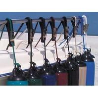 TIDY-UPS  FENDER ADJUSTER W/ROPE-Tidy-Ups Fender Adjuster Kit, White