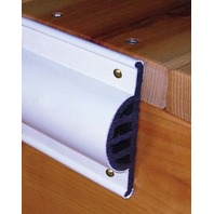 """COMMERCIAL GRADE DOUBLE MOLDED DOCK EDGING-Side Guard, 3-1/2""""H x 1-3/8""""W"""