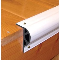 """COMMERCIAL GRADE DOUBLE MOLDED DOCK EDGING-Small P-Shape, 3-1/8""""H x 2""""W"""