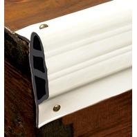 "DOCK-PRO  MEDIUM EDGE GUARD, 3-1/2""-25' Coil Length, 3-1/2""H x 1-1/2""D, White"