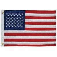 """SEWN NYLON 50 STAR  US FLAG-20"""" x 30"""" American Flag"""