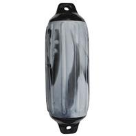 """SUPER GARD SWIRL FENDER-Silver Mist/Black, 6-1/2"""" x 22"""""""