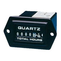 "ECLIPSE SERIES GAUGE-1-1/2"" x 1"" Hourmeter, Square"
