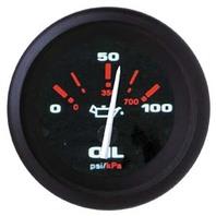 "AMEGA  SIGNATURE SERIES GAUGE-2"" Oil Pressure Gauge, 0-100 psi"