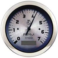 "STERLING OEM SERIES PREMIUM GAUGE-3"" Tachometer/Hourmeter, Electric, 0-7000 RPM"