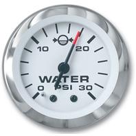 """LIDO SERIES PREMIUM GAUGE-2"""" Water Pressure Kit, 30 PSI"""