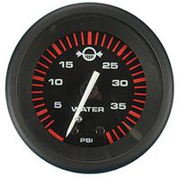 """AMEGA  SIGNATURE SERIES GAUGE-2"""" Water Pressure Kit, O/B, 40 psi"""