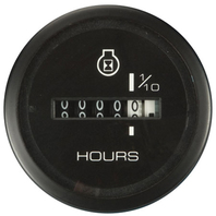 "ECLIPSE SERIES BOAT GAUGE-2"" Hourmeter"