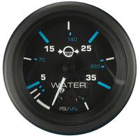 """ECLIPSE SERIES GAUGE-2"""" Water Pressure Gauge Kit, O/B, 0-40 psi"""