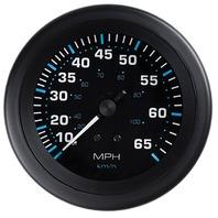 "ECLIPSE SERIES GAUGE-3"" Speedometer, 0-65 MPH"