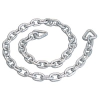 "ANCHOR CHAIN, GALVANIZED-4' Overall Length, 3/16"" Chain Link Size"