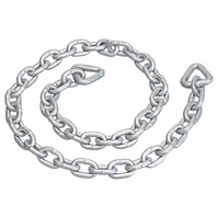 "ANCHOR CHAIN, GALVANIZED-6' Overall Length, 5/16"" Chain Link Size"