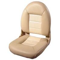 NAVISTYLE  HI-BACK BOAT SEAT-Tan/Sand Vinyl