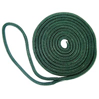 """BRAIDED FENDER LINE-1/4"""" x 6' Green (While Qtys Last)"""