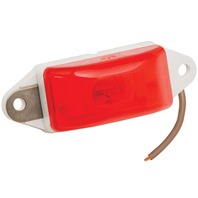 203286 Wesbar Waterproof Red Combo Clearance/Marker Light, Ear Mount