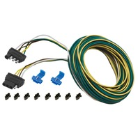 4-WAY WISHBONE HARNESS SET-25' Trailer Harness Kit w/4' Trunk Connector