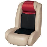 BLAST-OFF TOUR SERIES HIGH BACK BUCKET SEAT -Mushroom/Black/Red
