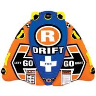 "WOW DRIFTER STEERABLE TUBE-Drifter Towable, 55""  x 45"",  1-Rider"