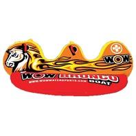 "BRONCO BOAT SADDLE SEAT TOWABLE-Bronco Boat, 2-Rider, 94"" x 60"""