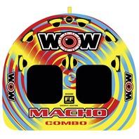 """MACHO COMBO MULTI-POSITION COCKPIT TUBE-Macho Combo 74"""" X 62"""", 2-Rider"""