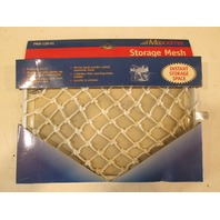 "PMW-128-01 Maxxima Marine White 12"" X 8"" Mesh Storage Compartment"