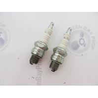 QL77JC4 828-1 Champion Marine Spark Plug Set of 2