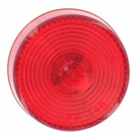 "V146R Peterson Boat Trailer Round 2"" Red Sealed Clearance Side Marker Light"
