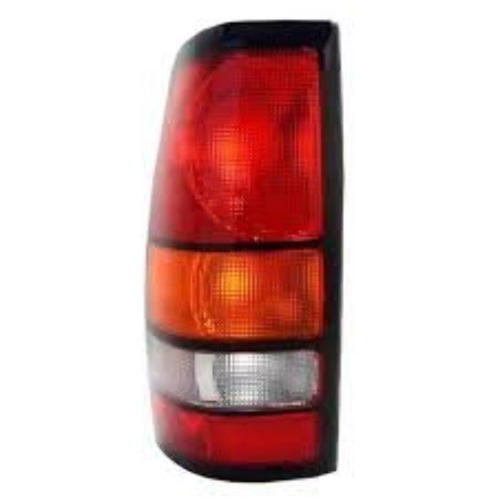 Fits 04-07 GM Sierra 2500 / 04-07 GM Sierra 3500 w/Single Rear Wheels Left Driver Tail Lamp Unit Assembly