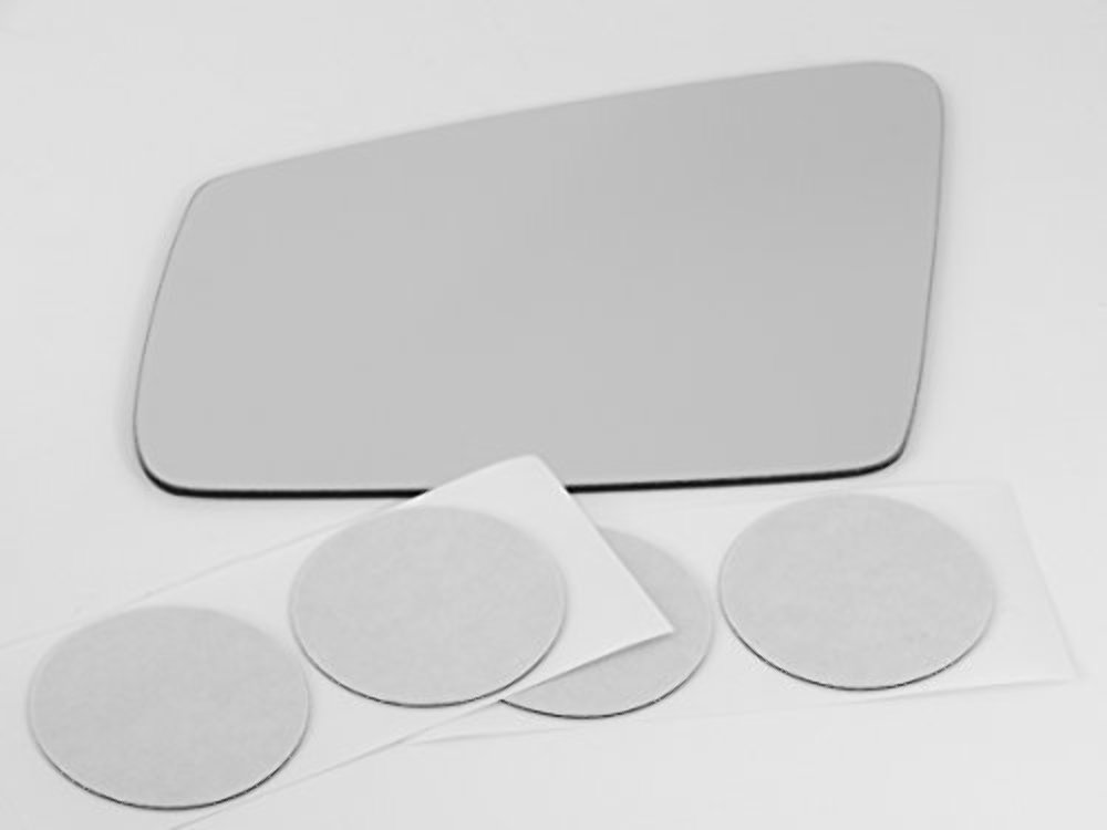 Fits Mercedes GLA, GLC Left Driver Mirror Glass Lens w/Adhesive Direct Fit Over Glass Auto Dimming Type See Details