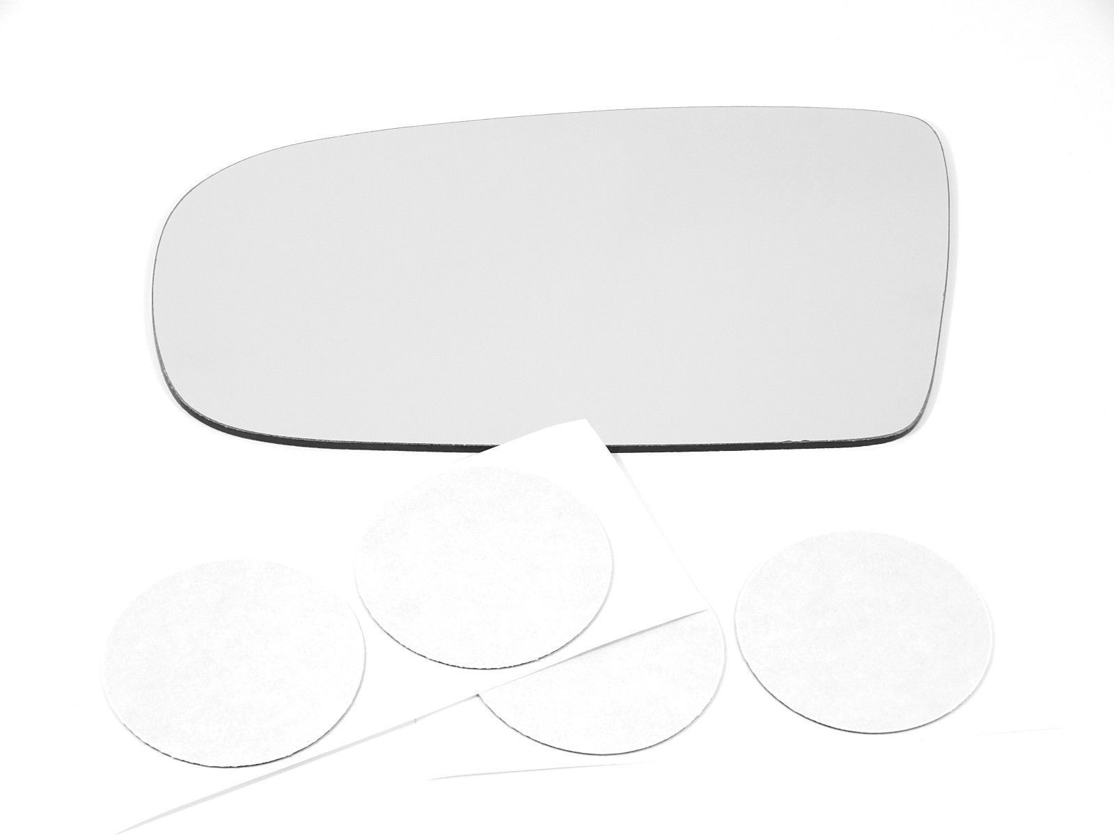 Fits 95-05 Cavalier, Sunfire Left Driver Mirror Glass Lens w/ Adhesive  USA