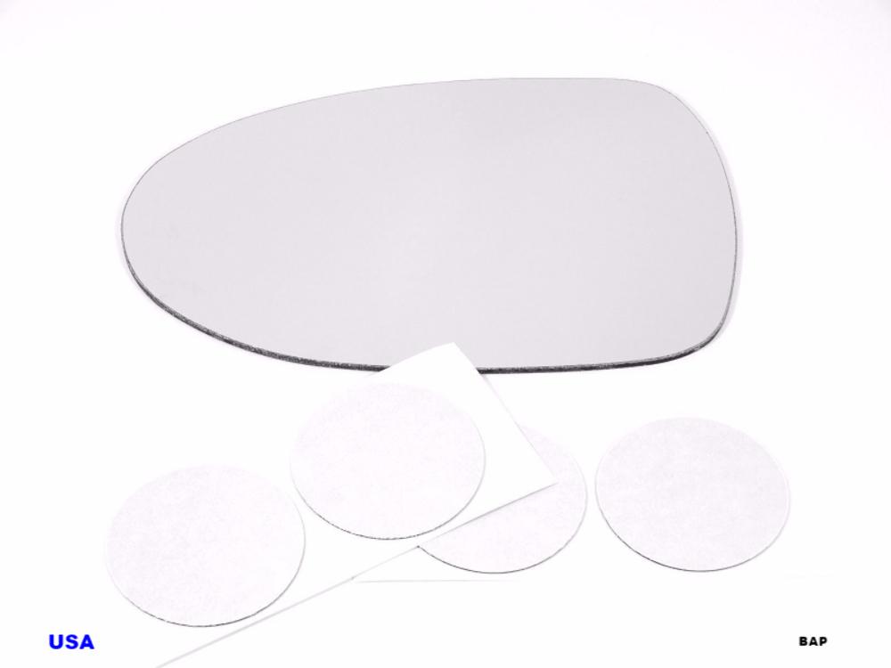 Fits 95-99 Sentra, 200SX, 98-01 Altima Left Driver Mirror Glass Lens w/Adhesive