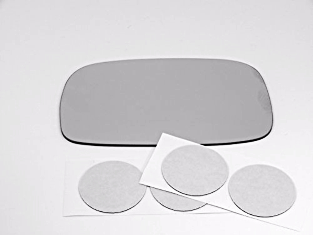 Fits 97-01  ES300, Left Driver Mirror Glass Lens w/ Adhesive, USA 2 Options
