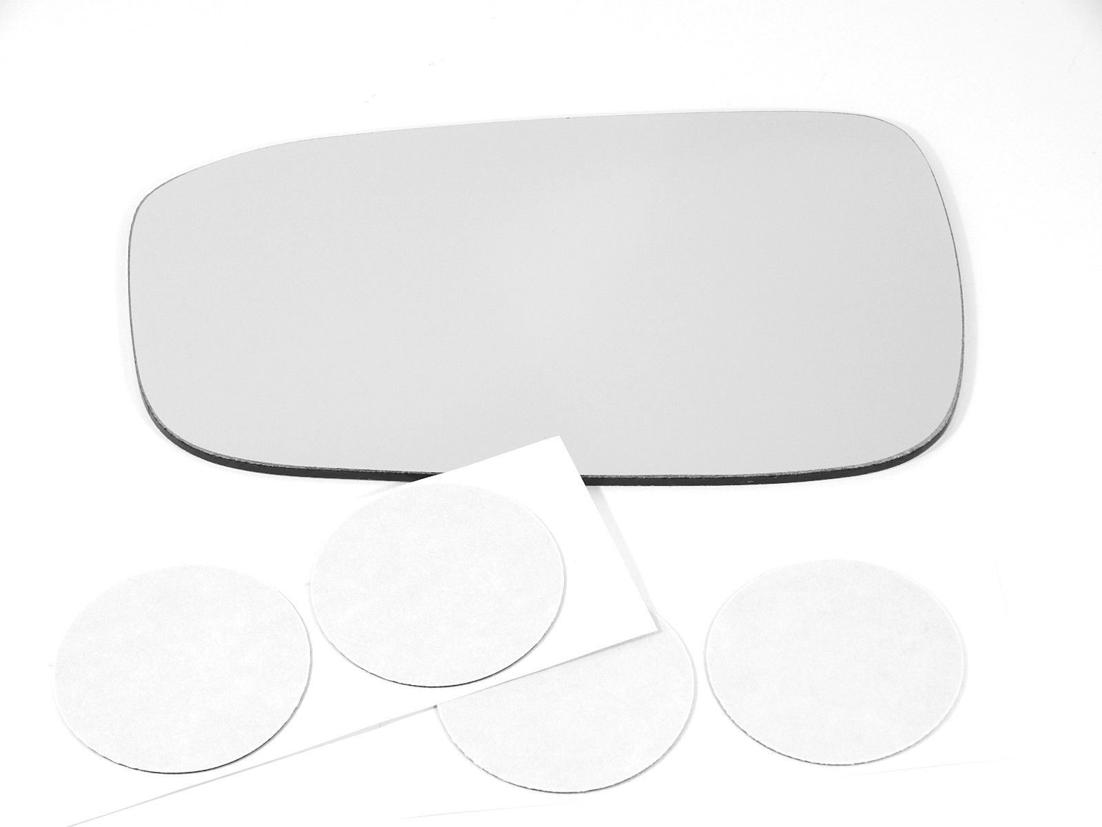 Fits 03-07 Accord USA built Models Left Driver Heated Mirror Glass Lens w/Adhesive