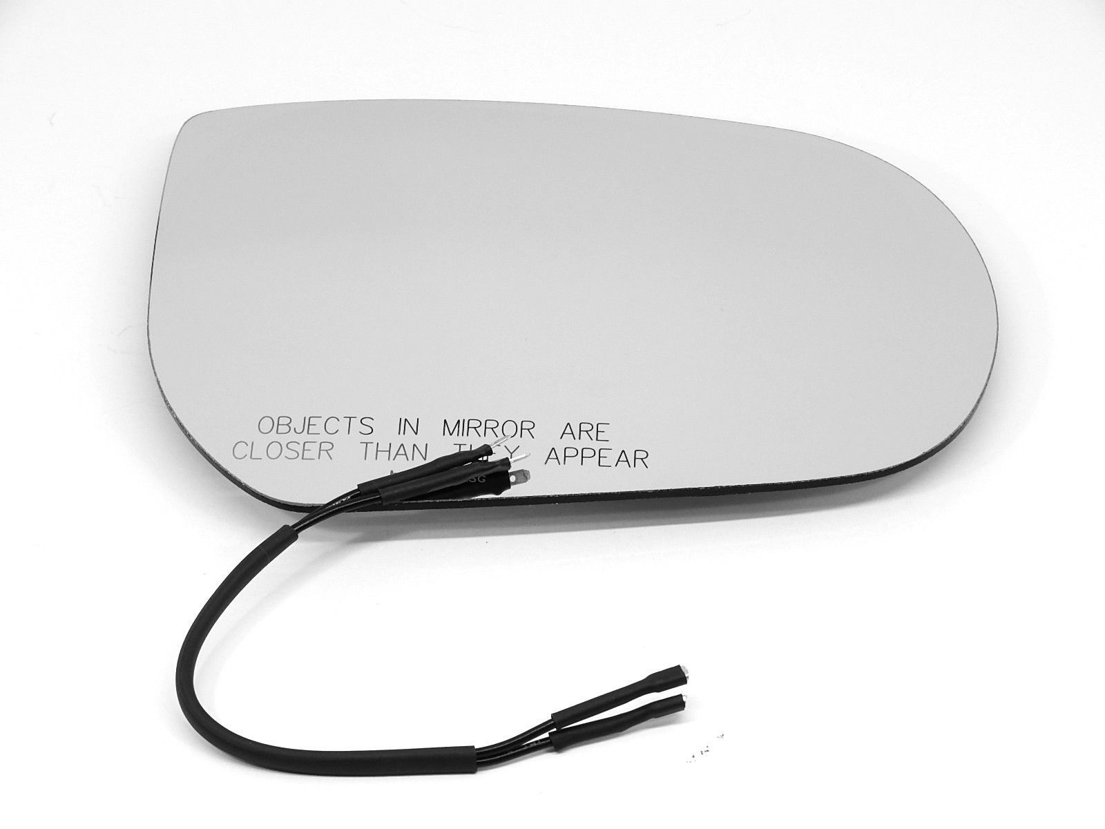 Fits 01-07 Escape Tribute Mariner Right Pass Heated Mirror Glass w/Rear Brkt