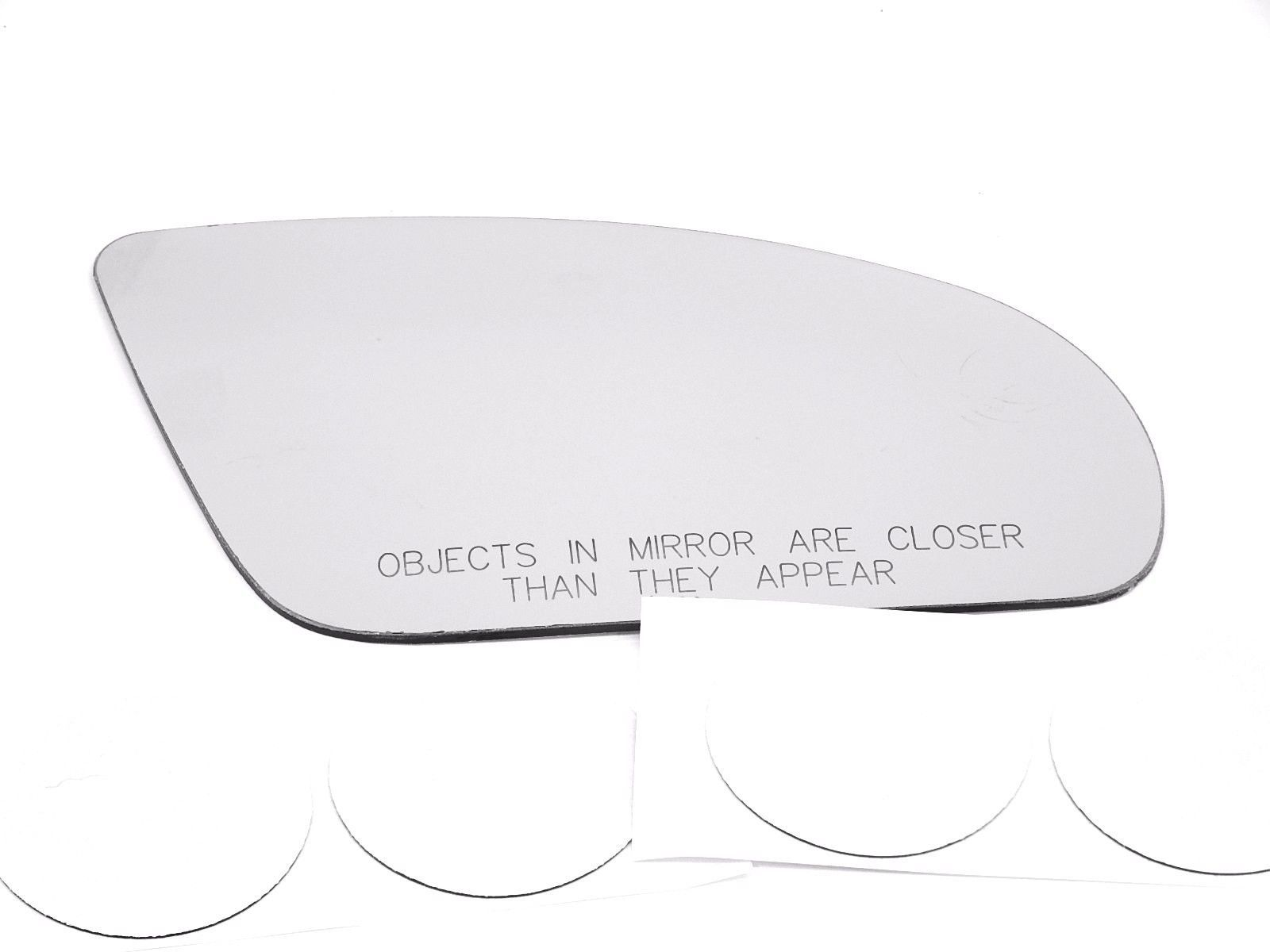 Fits 93-02 Pont Firebird Right Pass Mirror Clear Glass Lens w/Adhesive