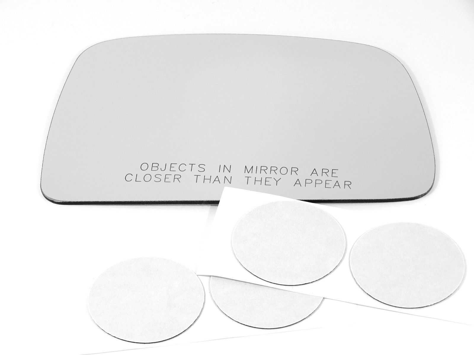 2 Options Fits 95-00 Toy Tacoma Right Pass Mirror Glass Lens Manual w/Adhesive