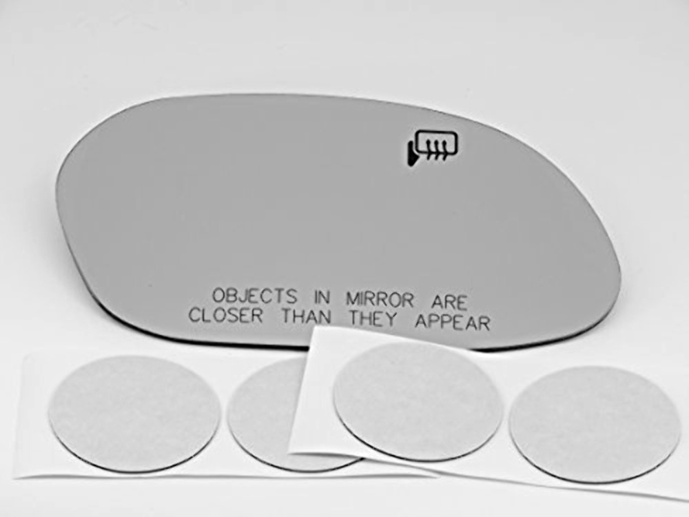 Fits 96-07  Taurus  Sable Right Passenger Heated Convex Mirror Glass Lens w/Adhesive USA