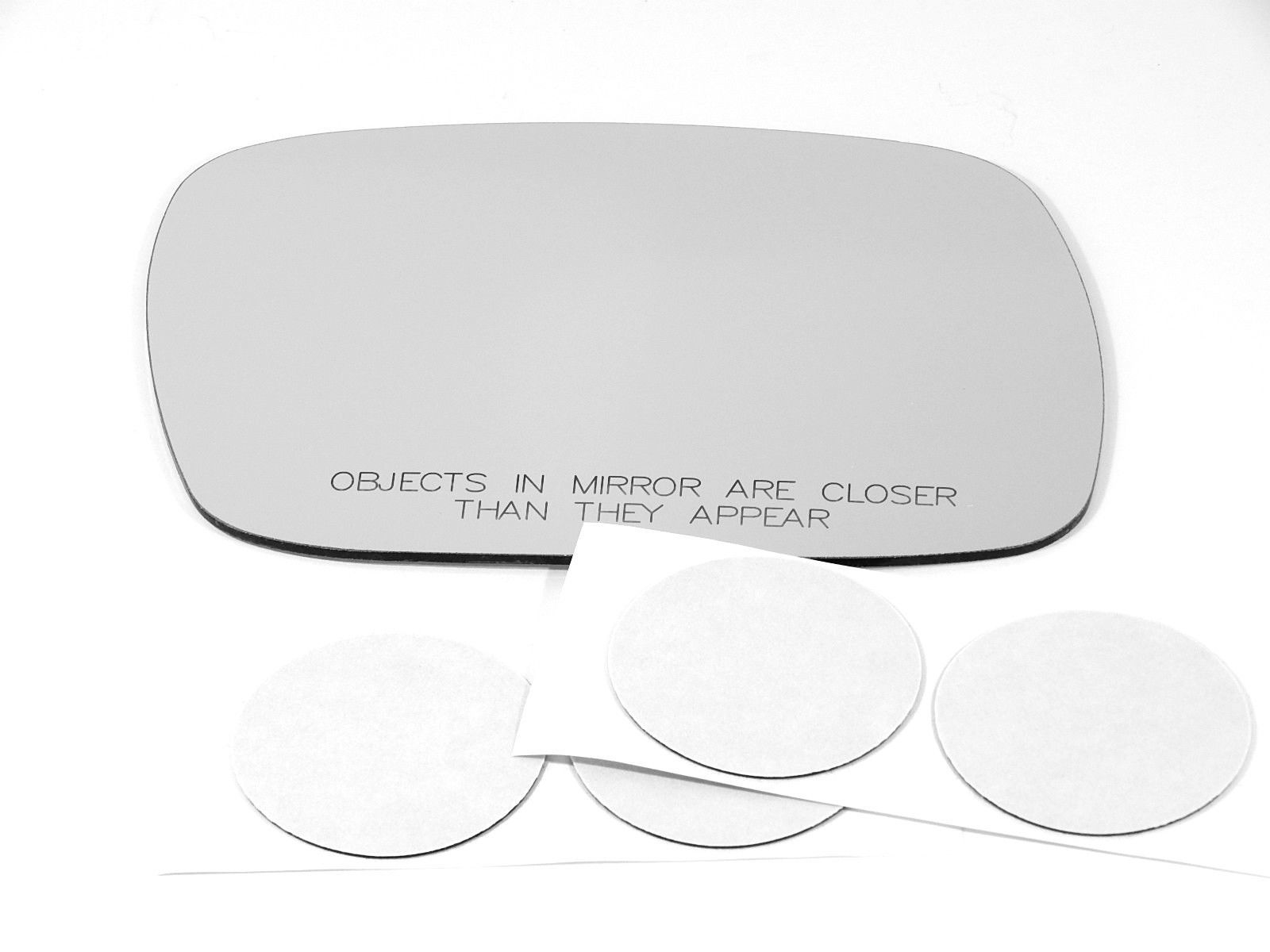Fits 97-01 Cherokee Right Pass Convex Mirror Glass Lens w/Adhesive  USA