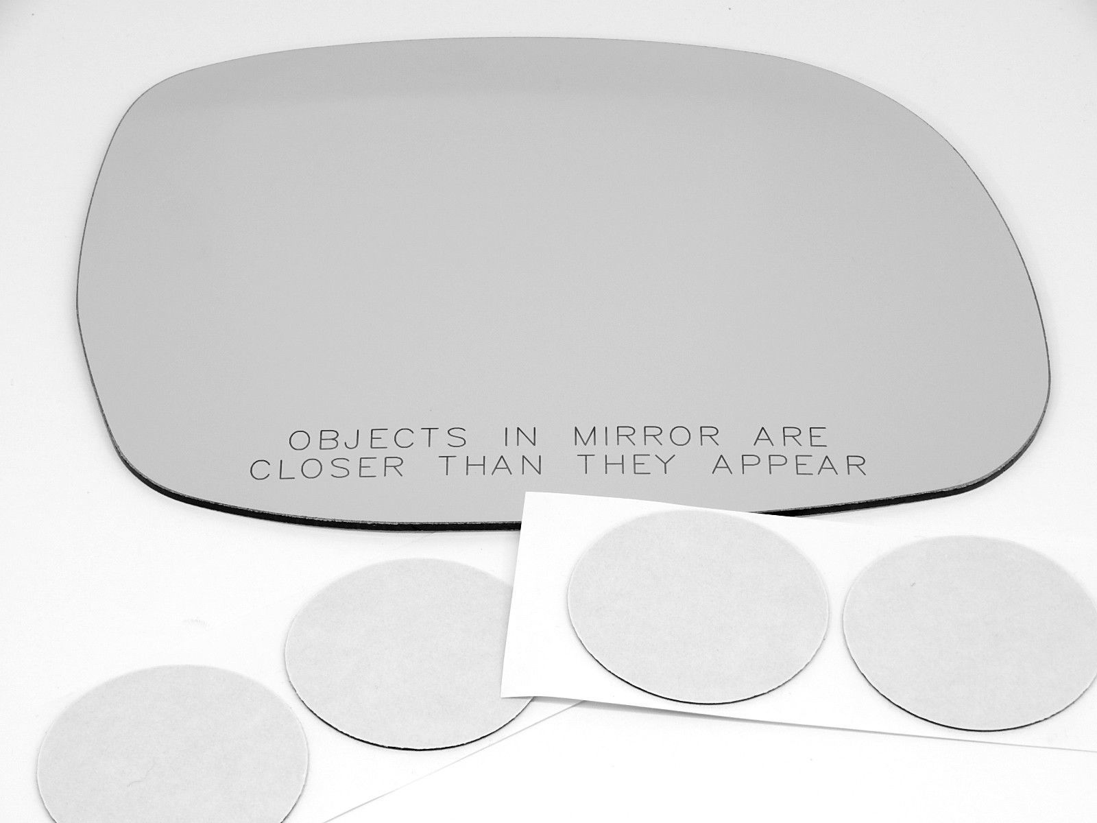 Fits 00-06 Tundra 01-07 Sequoia Right Pass Convex Mirror Glass Lens w/ Adhesive