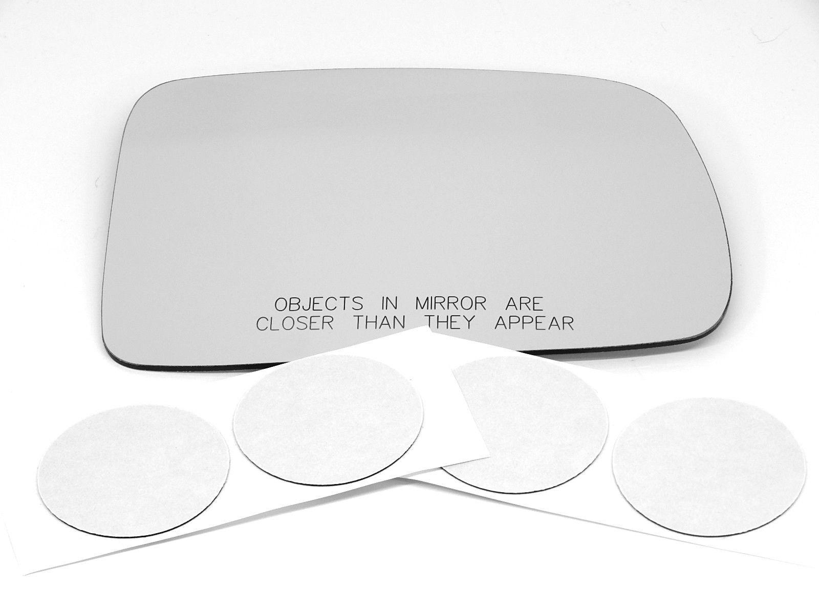 01-05 Civic Coupe Sedan Right Pass Convex Mirror Glass Lens w/ Adhesive  USA