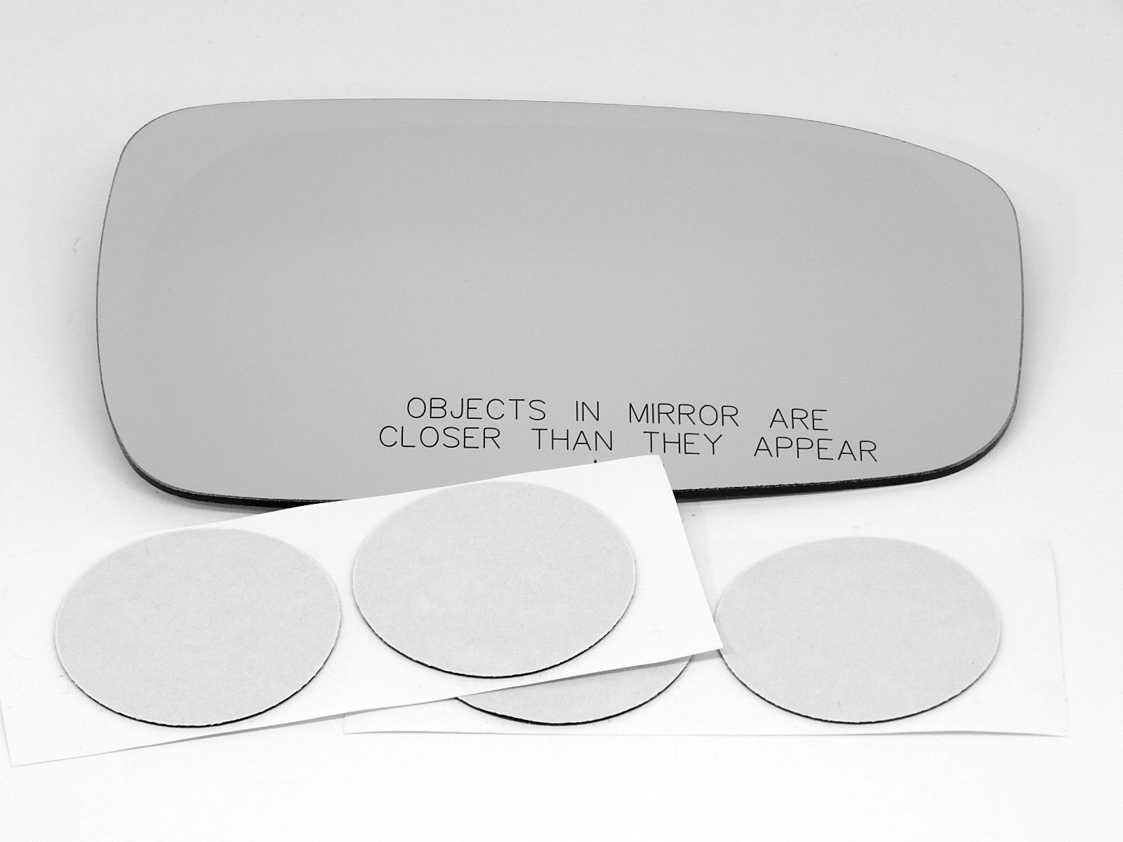 Fits 03-07 Accord Right Pass Heated Mirror Glass Lens w/ Adhesive  USA built Models